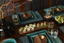 テーブル(和食)