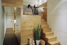 Clever / unique Interior design  / Clever use of space or design features in all types of buildings, internal and external. / by Chloe