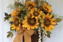 fiori per porta