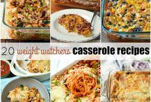 Weight watchers casseroles