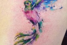 Watercolor Tattoo's