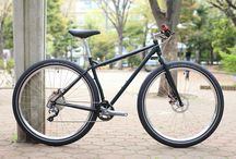 Bikes (CroMo) / There is something beautifull when you look at these bikes with steel frames.