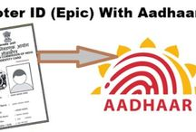 Link Aadhar Card With Voter ID (EPIC Card) / Link up you addhaar card with voer ID card or EPIC card with easy way
