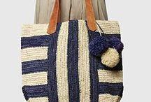 Örgü çanta modeli