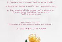 Wolf & Moon Wishlist