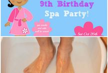 my spa party