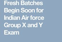 Fresh Batches Begin Soon for Indian Air force Group X and Y Exam