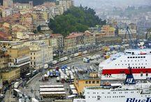 """Best of Ancona / Il nome Ancona deriva dal greco Αγκών, """"ankon"""" che significa gomito. La città, infatti, sorge su un promontorio a forma di gomito piegato e si protende verso il mare ospitando il più ampio porto naturale di tutto l'Adriatico."""