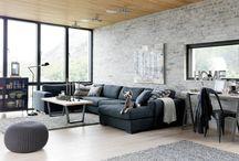 Living room industrial