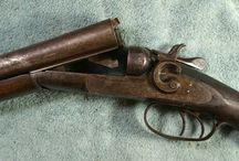 Double-Barrel Shotguns - Antique