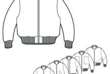 Fashion Technical Drawings / High quality fashion flat technical drawings and tech packs. For more examples including free downloads visit www.techpackbuilder.com