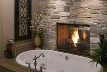 Fireplace / by Pamela Wright