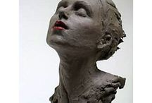 Escultura retrato tridimensional