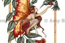 fairies and mythological creatures 2 / by Christine Chumley