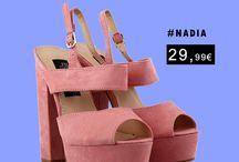 Nadia 29,99€ || Γυναικεία Πέδιλα Σουέντ Ροζ