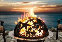 Firepits and barbecues