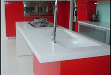 Solflex Kitchen Vanity Tops / Captures the elegant look of stone available in different color options.