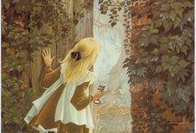 'The Secret Garden' Illustration Inspiration / Illustration inspiration for Level 5 IOT project - 'The Secret Garden'.