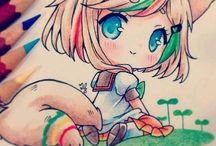 Manga/Anime Zeichnungen