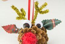 kids dyi christmas ornaments