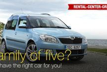 Cars @ Rental Center Crete / Car rental models available in Crete by Rental Center Crete