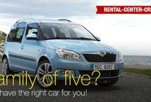 Cars @ Rental Center Crete / Car rental models available in Crete by Rental Center Crete