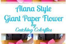 Papierové,látkové a modelované  kvety vyroba