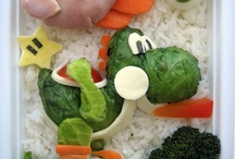 Food Art / We love to see people enjoying their food and turning it into a work of art.