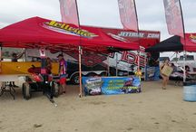 Jet Tribe Jettribe crew set up our booth/pit in record time today.  What did we do the rest of day? Ride and ride.