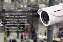 H.265/HEVC / LS Vision H.265 Starlight IP Camera --- A New Level of Video Quality.  H.265: High Efficiency Video Coding (HEVC). HiSilicon H.3516D 2MP (1920*1080/30fps) Compatible with H.264 Super WDR; Realtime Monitoring More info, please clik: http://www.lishigroup.com/