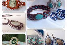Сутажные украшения, Soutage / Soutache jewelry