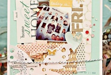 Scrapbooking A4 layouts