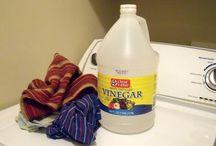 Vinegar in laundry