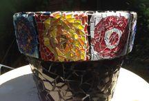 Anita's own mosaics