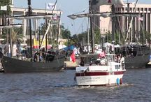Louisiana Pirate Festival - Contraband Days / Usually held annually the first part of May and Unique to Lake Charles, Contraband Days Louisiana Pirate festival celebrates the legend of pirate Jean Lafitte. Here are some ideas on how to celebrate! / by Visit Lake Charles