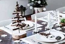 Kerst_Tafel / Kerstdecoratie maken, doen of kopen