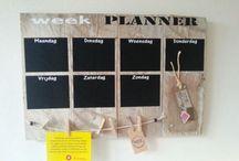 weekplanner diy