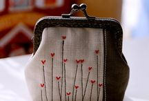 coin purse embroidery