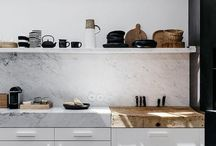 kitchens with mix worktops
