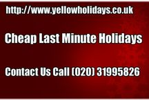 Cheap Last Minute Holidays