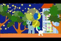 Kinderlied Kita Kind Katze / Animierte Kinderfilme mit Kätzchen, Zeichentrick für Kinder von 0 - 6 Jahre, für den Kindergeburtstag, Geschenk, Weihnachten oder wenn es regnet. Kinderlieder, Herbstlieder, Schlaflieder, Winterlieder und Weihnachtslieder mit Kätzchen Molli-Miez .