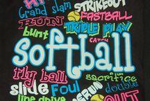 Softball! / I love softball and I always will! / by Shortyyyy Size