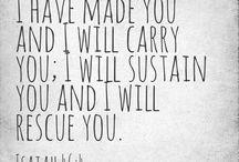 Scriptures/ quotes