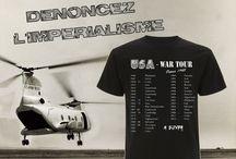 USA - War Tour / Dénoncer l'impérialisme et plus généralement la guerre