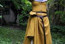 Historický kostým dámský - 15. století / Toto je moje sbírka kostýmových referencí a zdrojů pro vytvoření vlastního kostýmu.