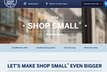 SHOP SMALL / Support small Business  and get $5 credit fro every $20 transaction you make this month