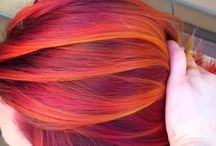 orange/red hair