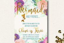 Vintage Mermaid Party