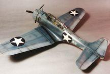 My Hasegawa 1/48 SBD-3 Dauntless