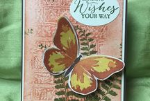 Stampin Up Wax Paper Embossing Technique / The end result with this technique, is a dimensional look but on a flat surface.  It's a great way to make your own background paper as well.  See directions on this post:  http://stampwithanna.blogspot.com/2016/05/brick-wall-wax-paper-embossed-card.html I'm happy to answer any questions you may have about any of these projects. You can email me at amascio@comcast.net. Check out my blog at: www.stampwithanna.blogspot.com Shop with me at: http://www.stampinup.net/esuite/home/annamasciovecchio/